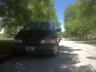 1992 Toyota Previa Awd, photo