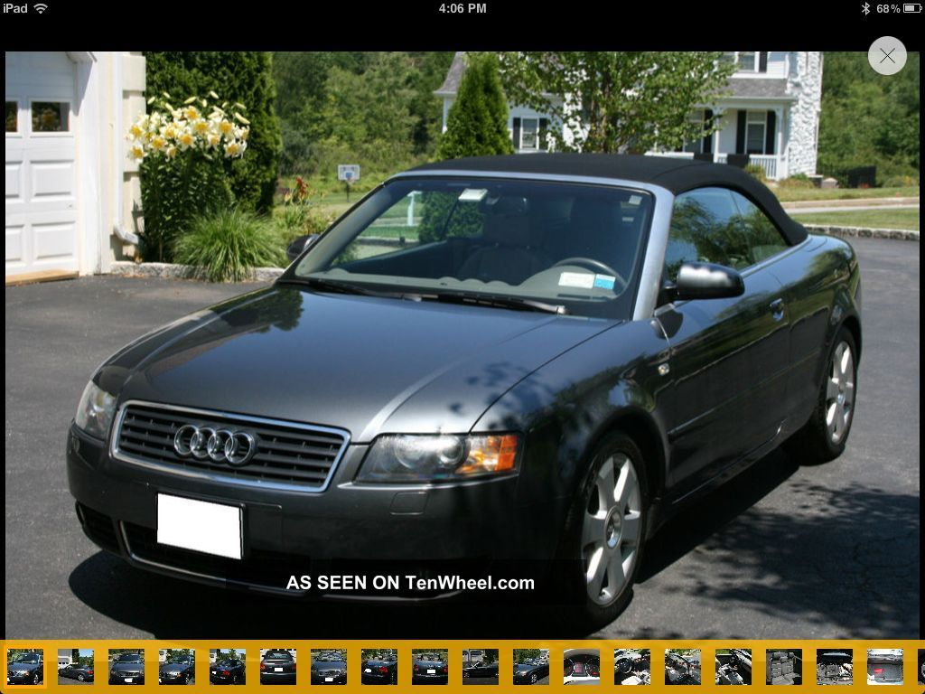 2006 audi a4 cabriolet. Black Bedroom Furniture Sets. Home Design Ideas