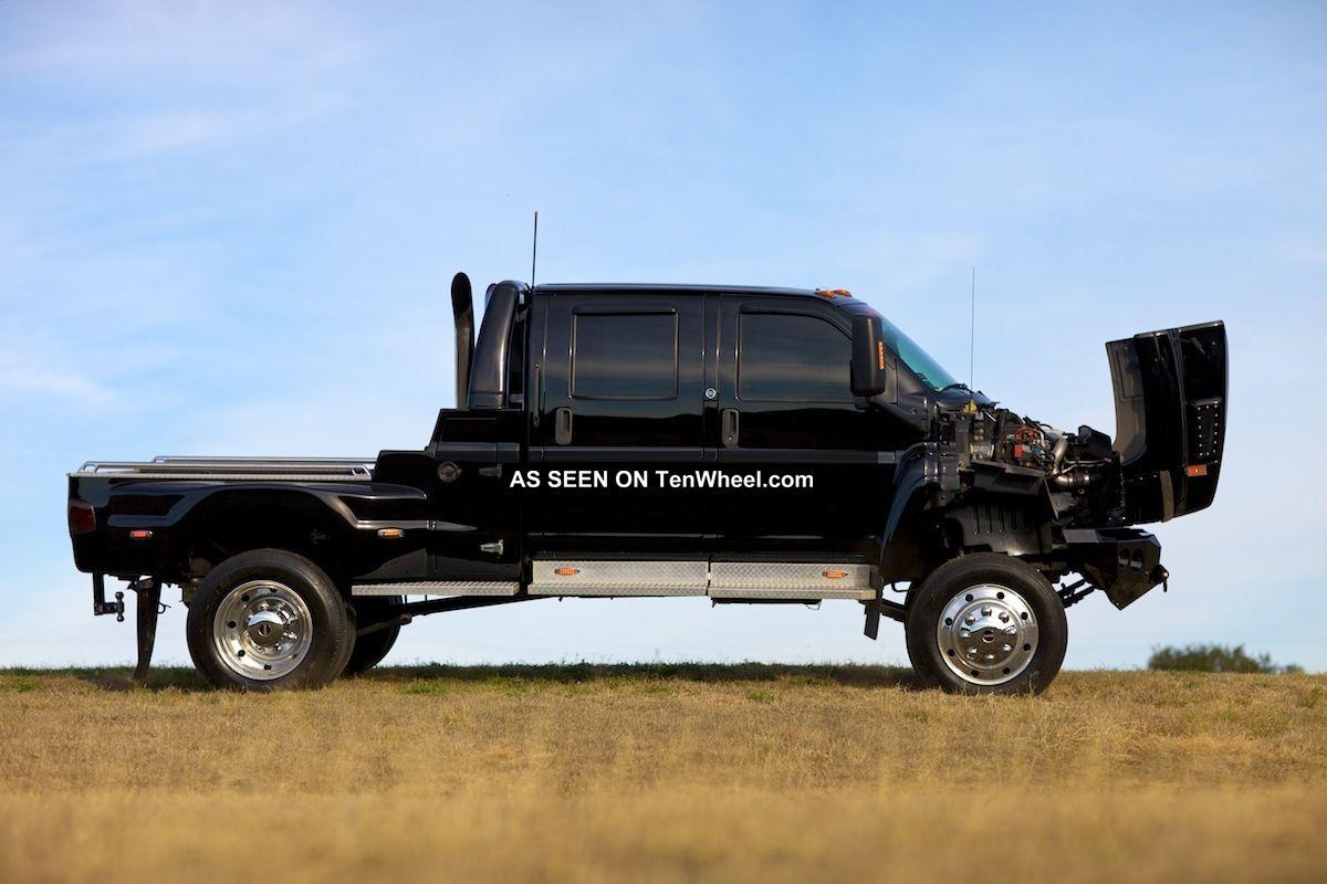 2004 Gmc C4500 Topkick Extreme Truck Ironhide Black 2wd Kodiak Mxt Cxt F650