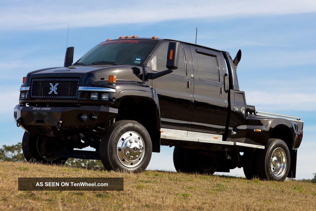 2004 Gmc C4500 Topkick Extreme Truck Ironhide Black 2wd Kodiak Mxt Fuse Diagrams Cxt F650