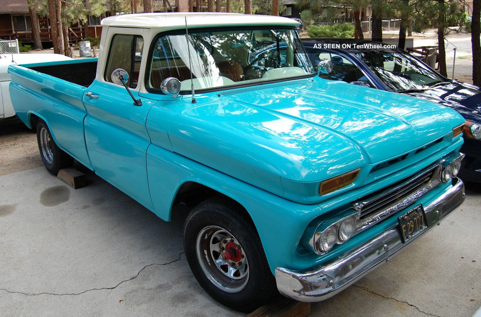 1960 c 20 chevy pickup truck in condition rare 3 4 ton with. Black Bedroom Furniture Sets. Home Design Ideas