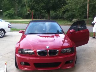 2004 Bmw M3 Base Convertible 2 - Door 3.  2l photo