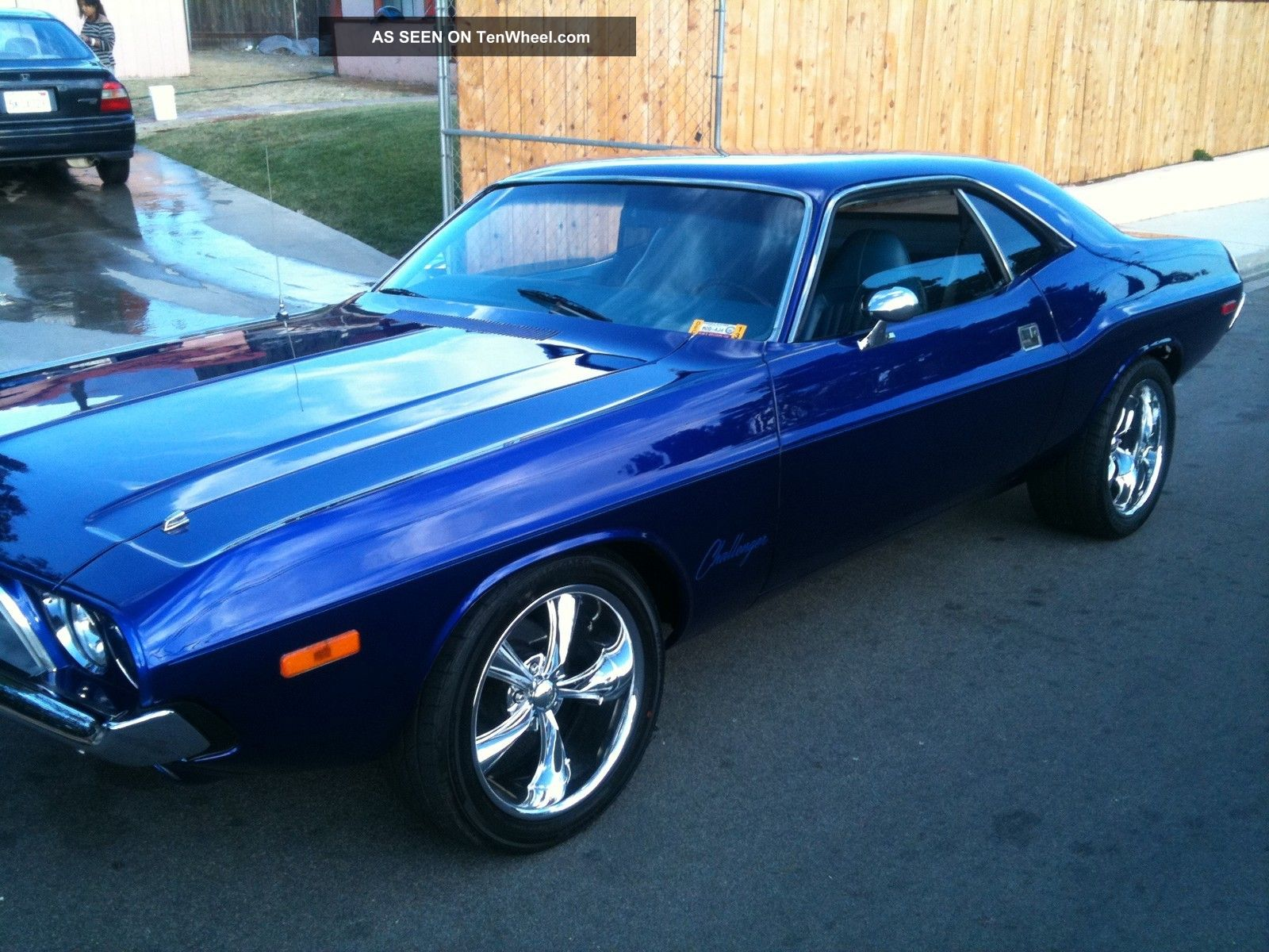 1st Generation Dodge Challenger Muscle Car 1974