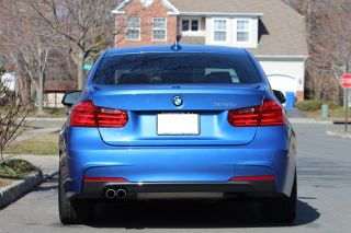 2013 Bmw 3 Series Sedan 328i Estriol Blue M - Sport F30 Manual Transmission photo