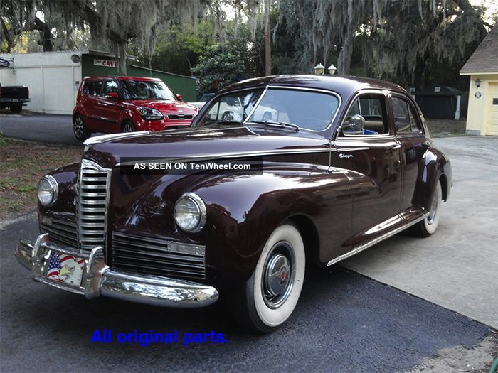 1947 Packard Clipper 6 4 - Door Sedan Packard photo