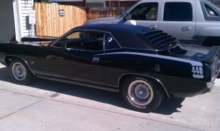 Fresh Triple Black 1970 Cuda. .  Built 440,  Wedge Cross Ram,  4 Spd, . .  Rotesseri, photo