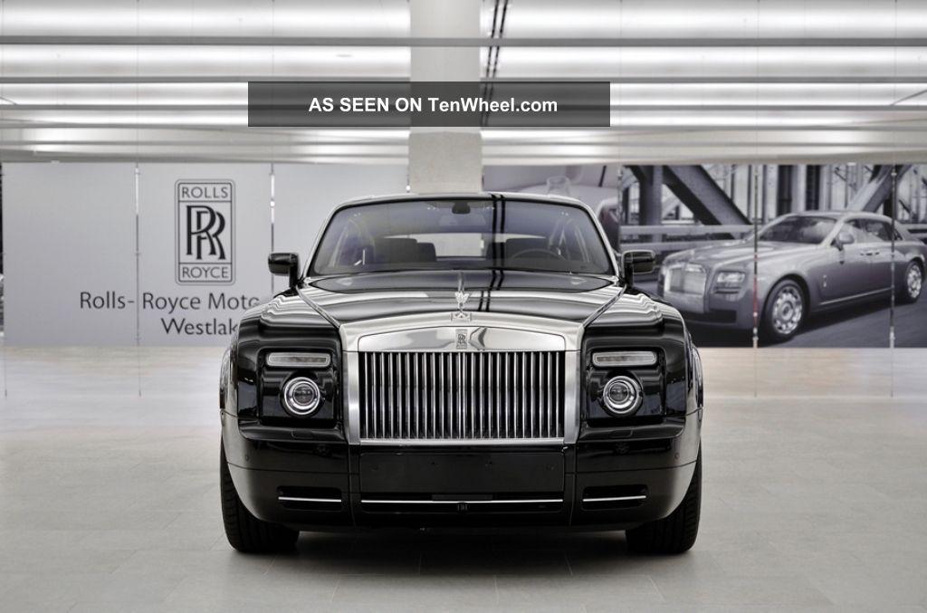 2009 rolls royce phantom coupe coupe 2 door 6 7l. Black Bedroom Furniture Sets. Home Design Ideas