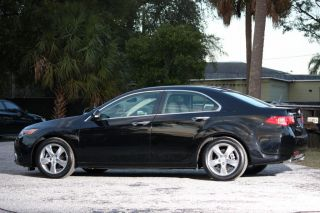 2011 Acura Tsx Technology Package Sedan Black 19k photo