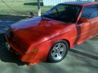 1989 Chrysler Conquest Tsi 2.  6 Turbo Charged 5 Speed,  Red photo