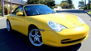 2002 Porsche 911 Carrera Convertible 2 - Door 3.  6l photo
