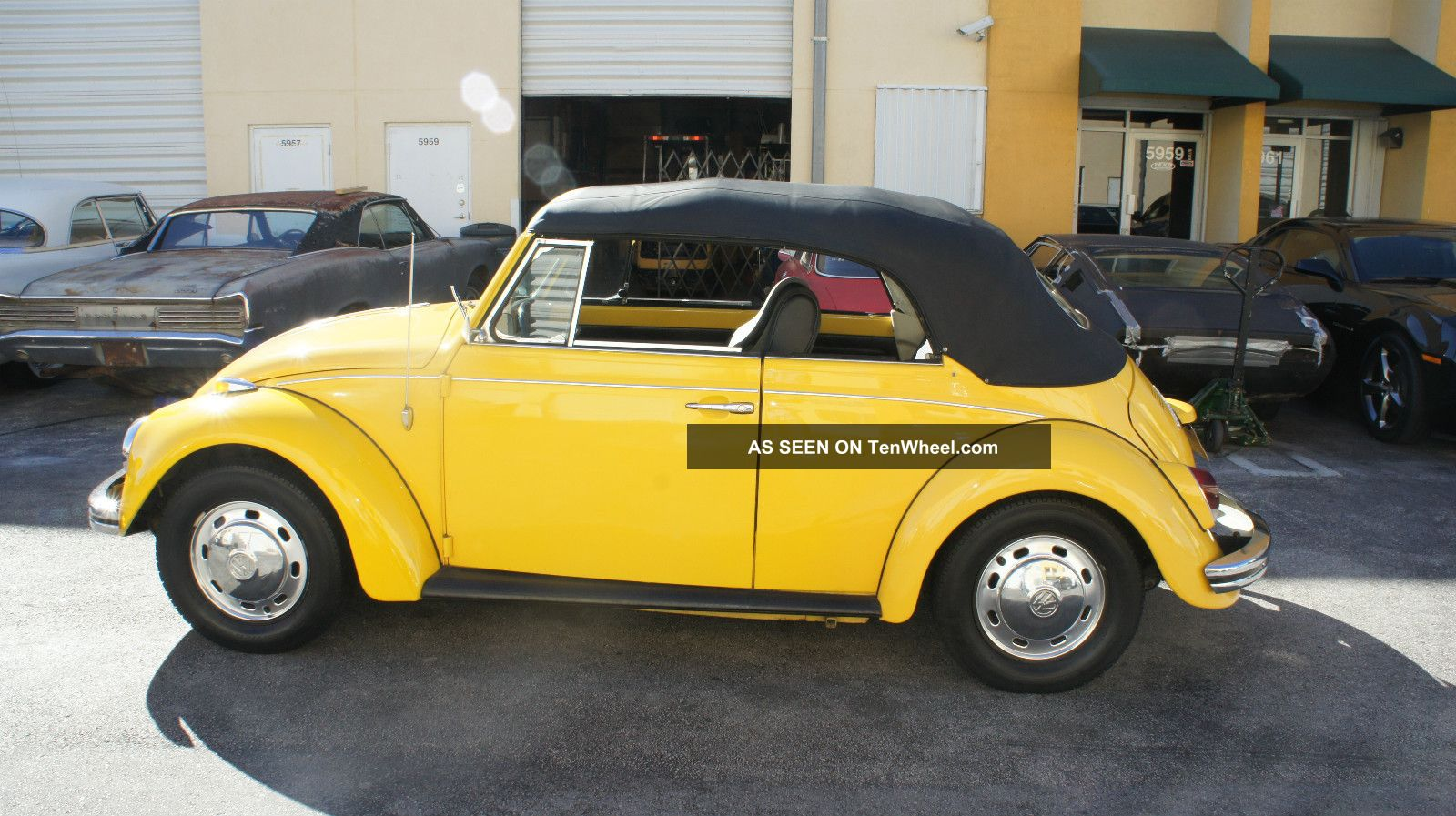 1969 volkswagen beetle bug convertible 2 owners only
