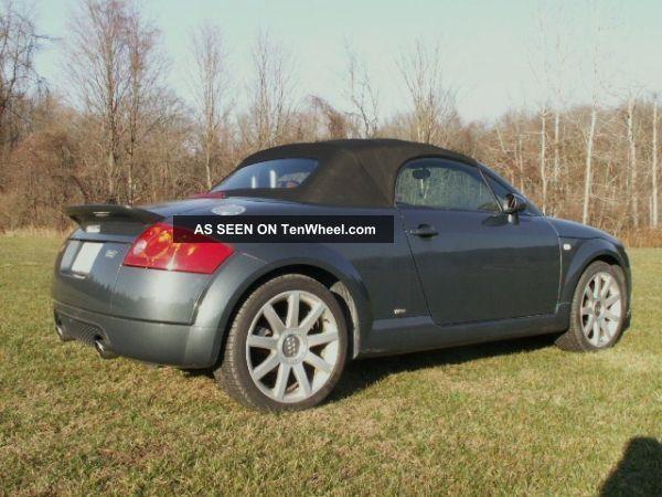 2004 audi tt quattro base convertible 2 door 3 2l. Black Bedroom Furniture Sets. Home Design Ideas