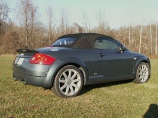2004 Audi Tt Quattro Base Convertible 2 - Door 3.  2l photo