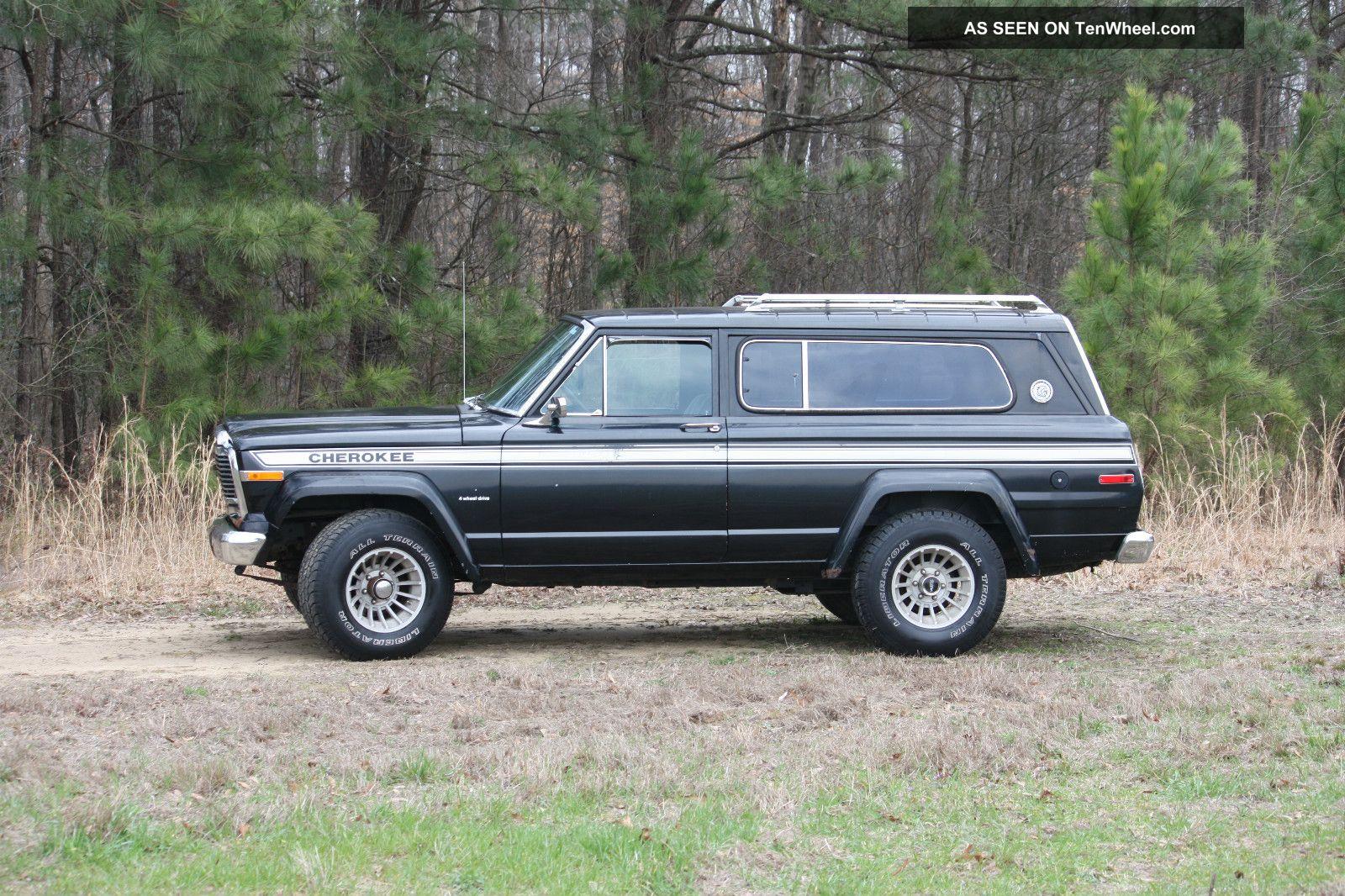 1979 jeep cherokee chief quadratrac