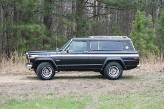 1979 Jeep Cherokee Chief Quadratrac photo