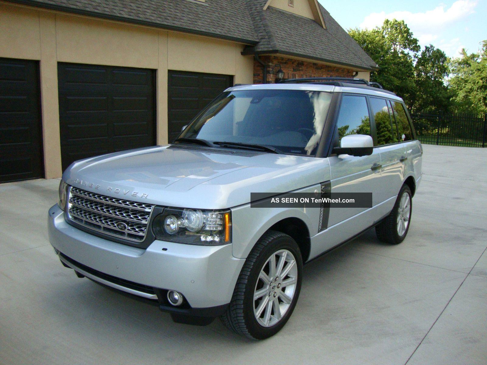 2010 land rover range rover supercharged sport utility 4 door 5 0l. Black Bedroom Furniture Sets. Home Design Ideas