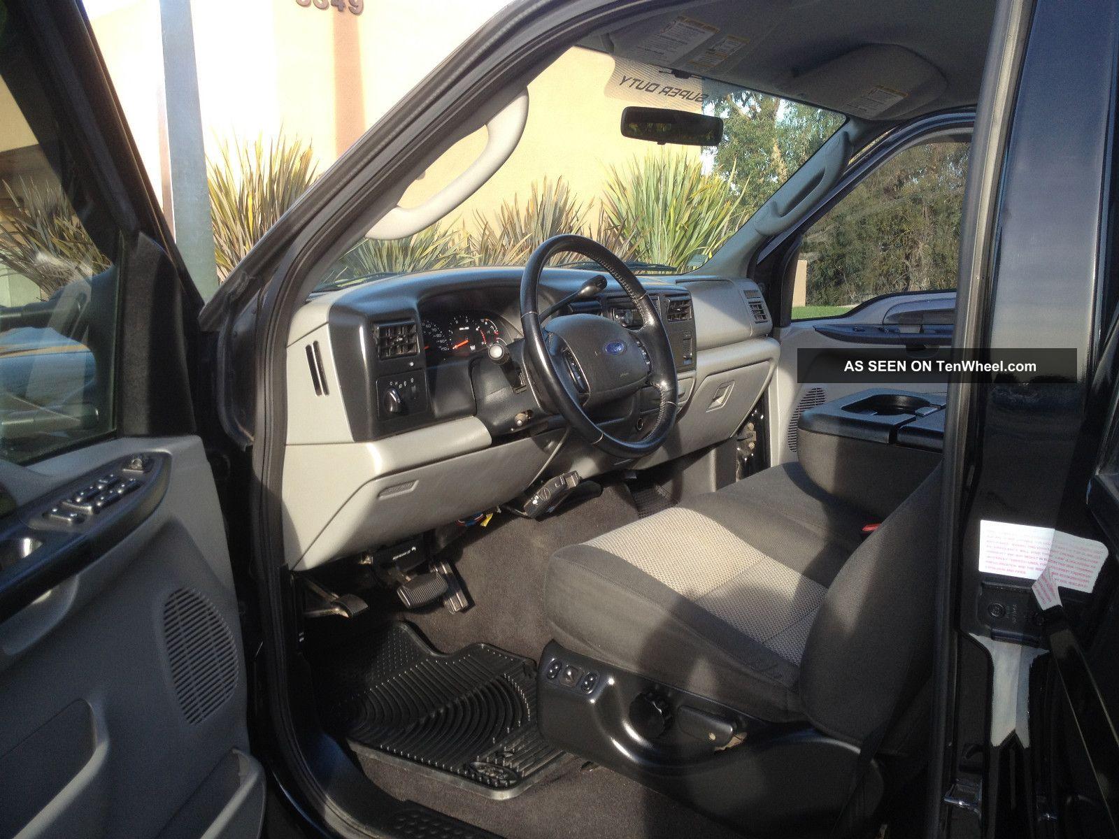 2004 Ford F 250 Fx4 Black F250 Truck Duty Crew Cab 4 Door Remote Start 150 Fx