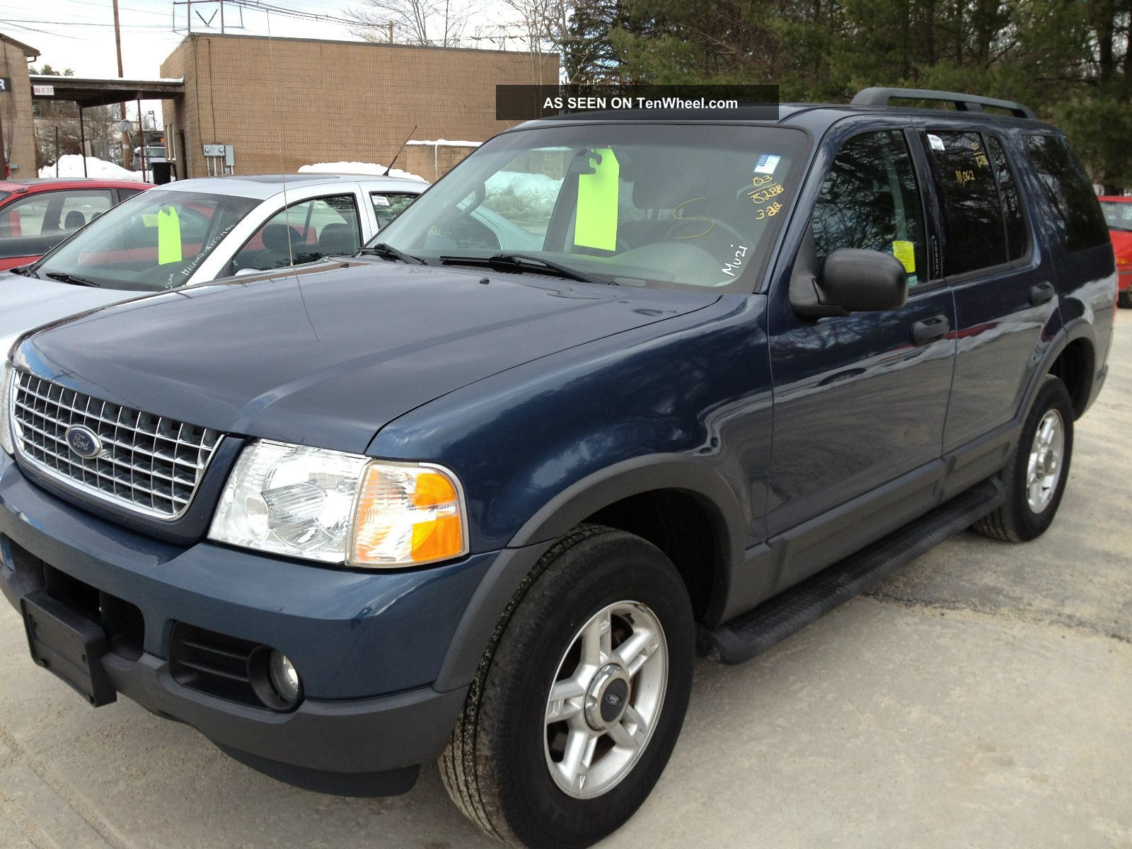 2003 ford explorer xlt sport utility 4 door 4 0l. Cars Review. Best American Auto & Cars Review