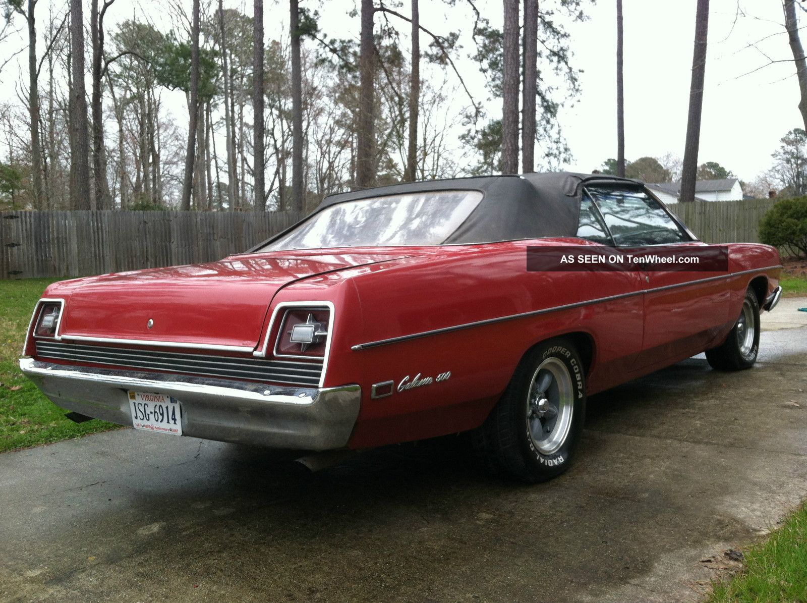 1969 Ford Galaxie 500 Convertible W 429 And C6