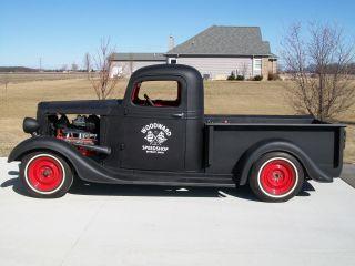 1937 Chevrolet Pickup Rat Rod Shop Truck 1936 36 37 photo