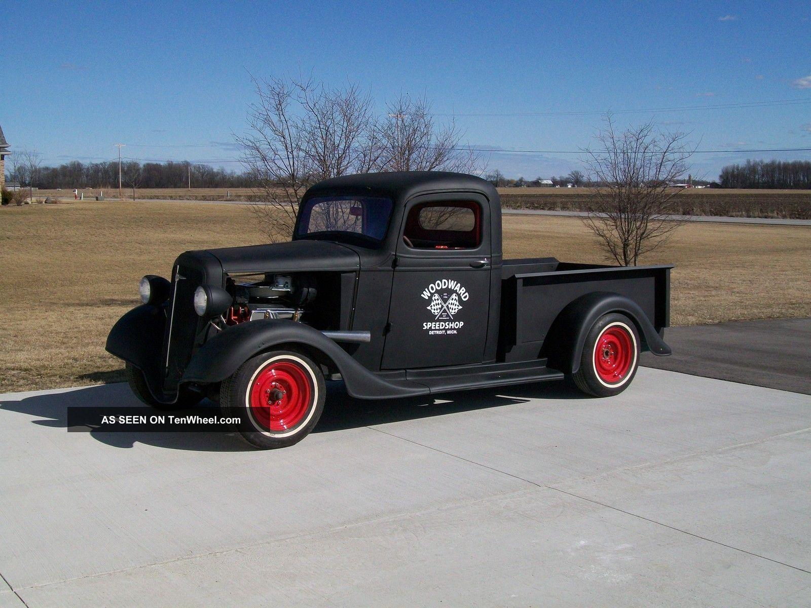 1937 Chevrolet Pickup Rat Rod Shop Truck 1936 36 37