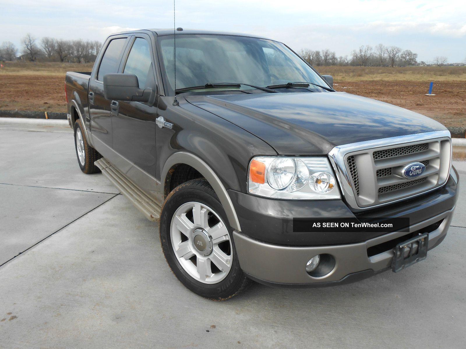2006 ford f 150 king ranch crew cab pickup 4 door 5 4l. Black Bedroom Furniture Sets. Home Design Ideas