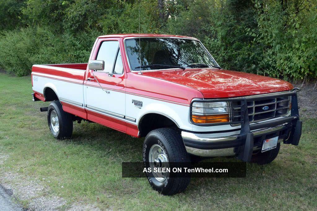 Ford 4x4 Rear : Ford f xlt single rear wheel turbo