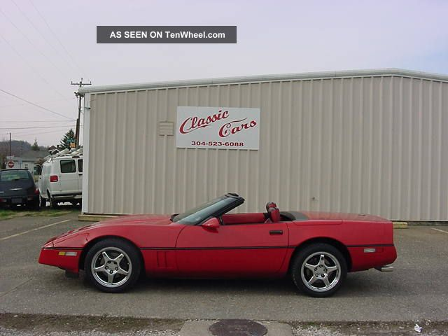 1990 Chev Corvette Convertible Corvette photo