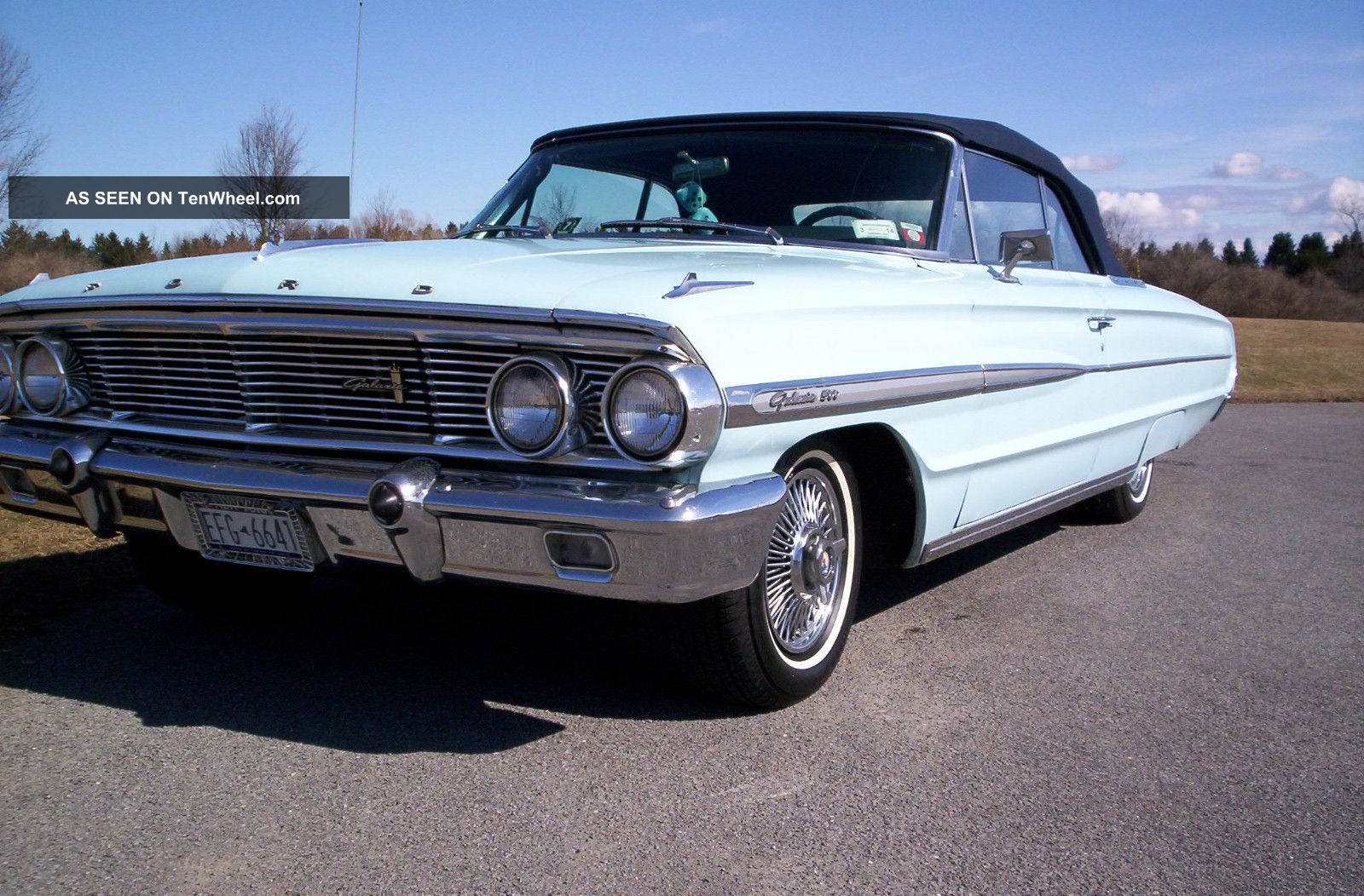 1964 ford galaxie 500 convertible. Black Bedroom Furniture Sets. Home Design Ideas