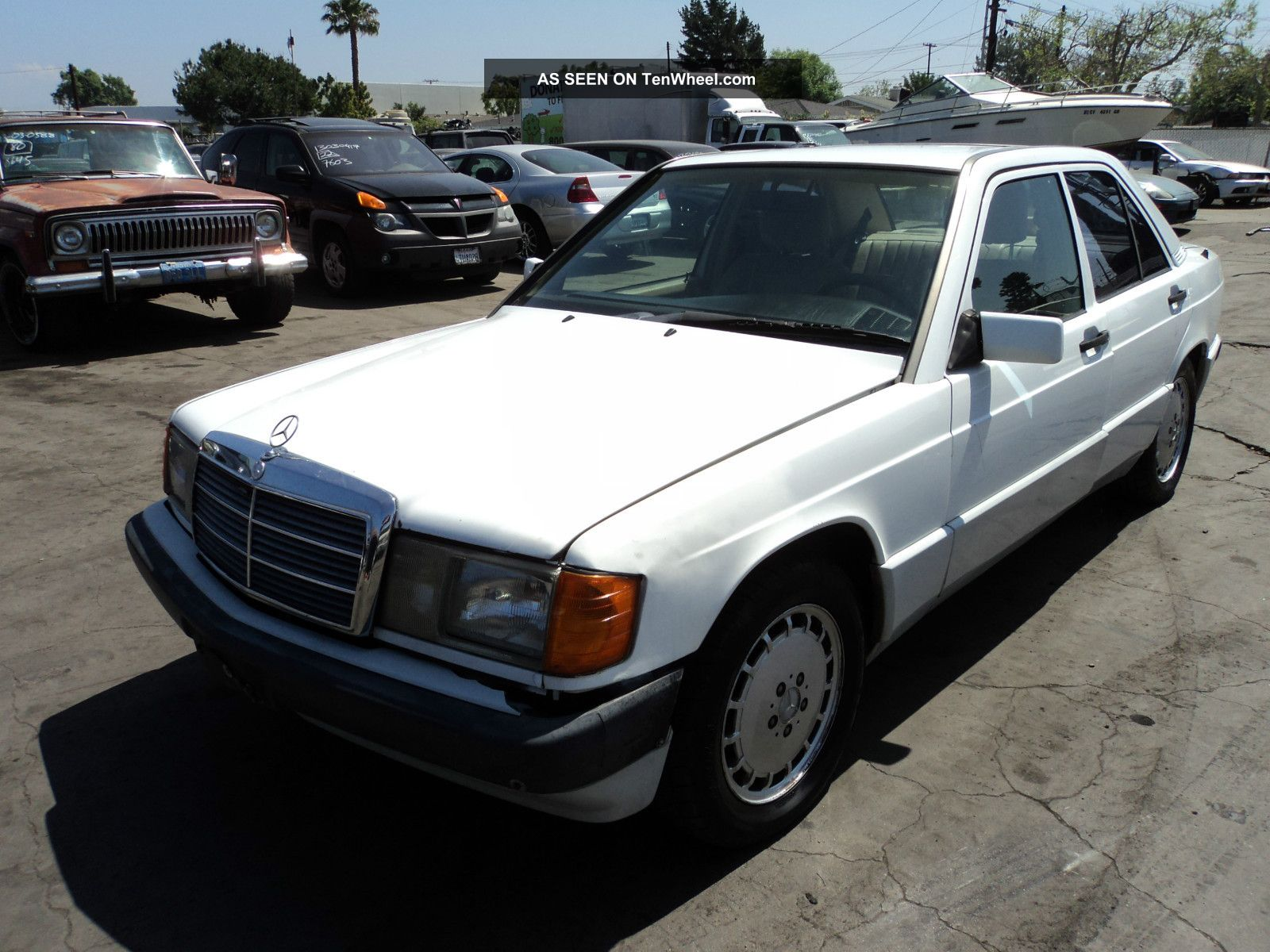1992 mercedes benz 190e 2 6 sedan 4 door 2 6l
