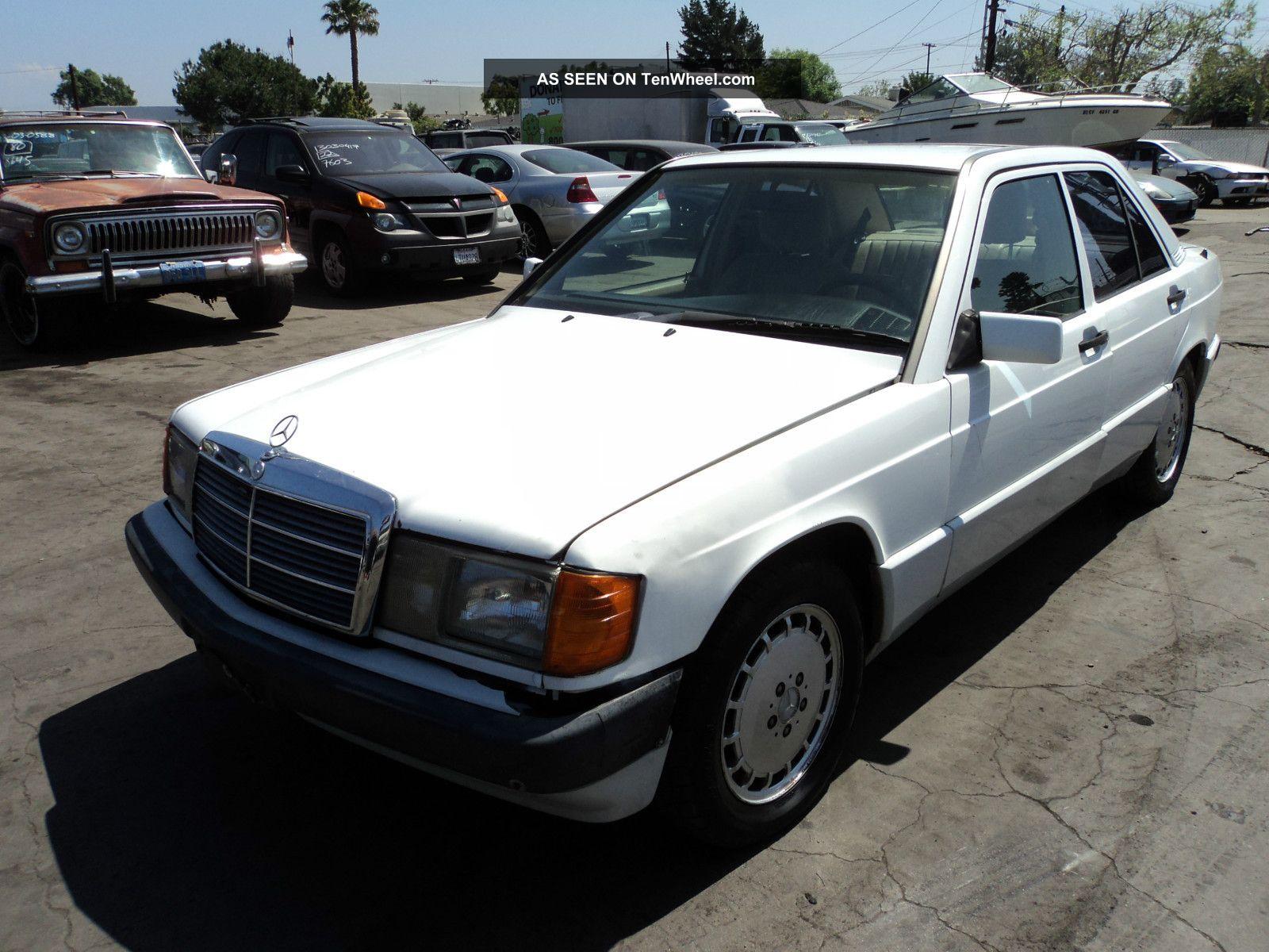 1992 mercedes benz 190e 2 6 sedan 4 door 2 6l for Mercedes benz 1992