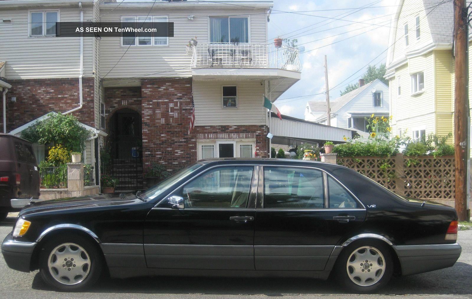 1996 mercedes benz s500 black for Mercedes benz s500 1996