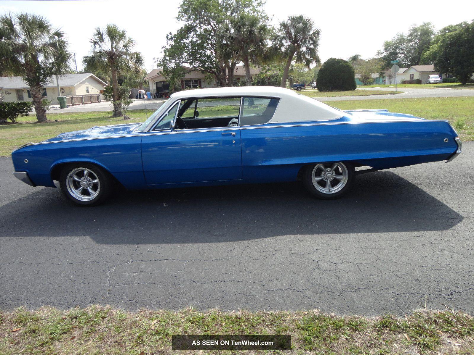 1968 Dodge Polara No Rust Ever