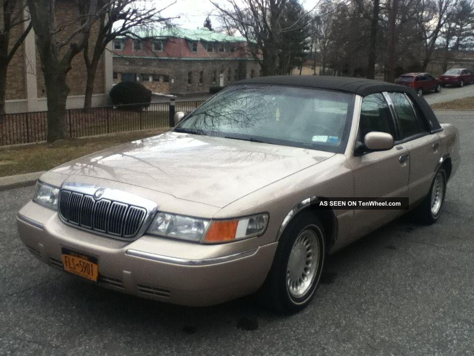 1998 mercury grand marquis ls sedan 4 door 4 6l. Black Bedroom Furniture Sets. Home Design Ideas