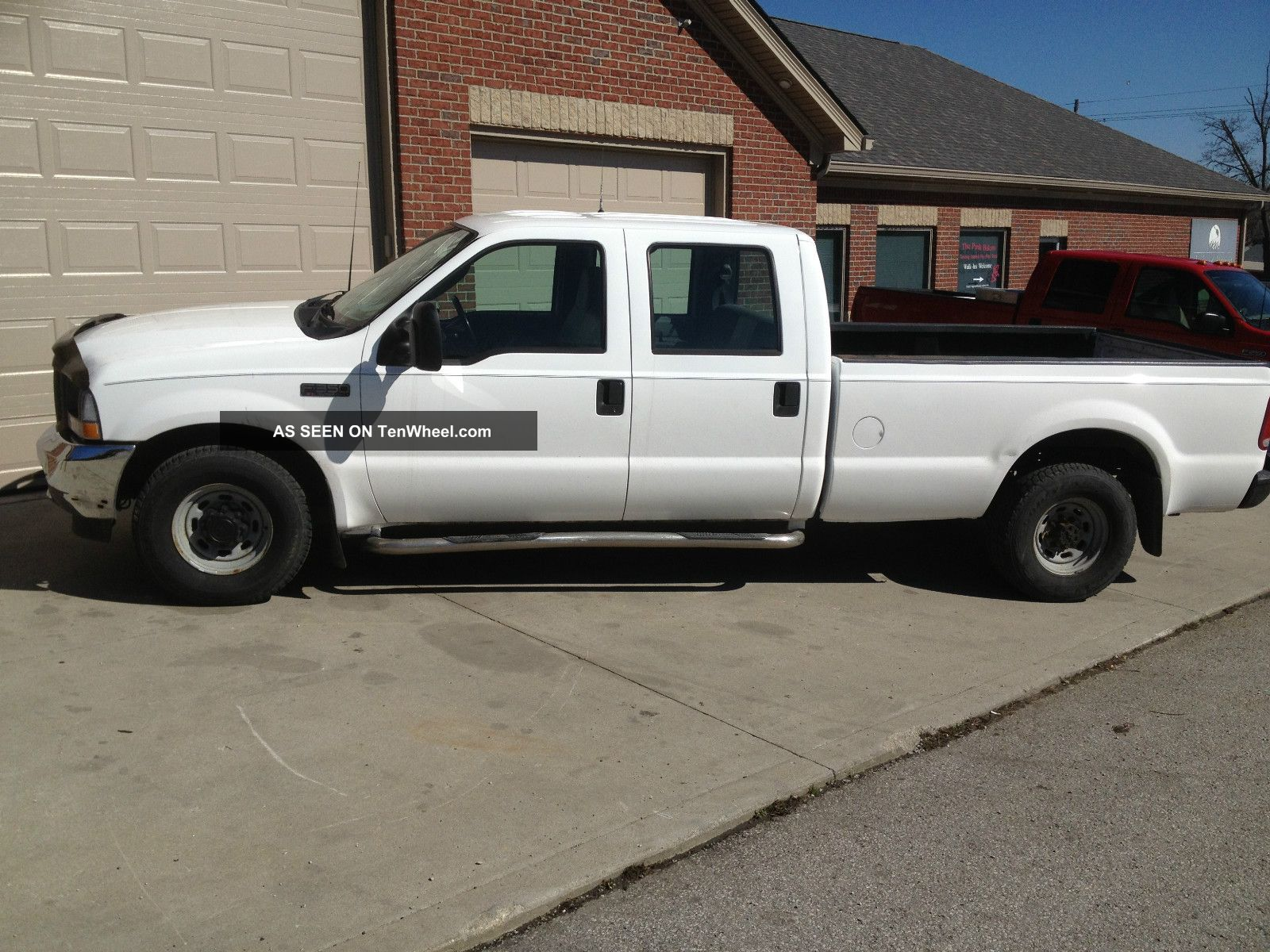 2003 ford f 350 duty xl crew cab pick up truck. Black Bedroom Furniture Sets. Home Design Ideas