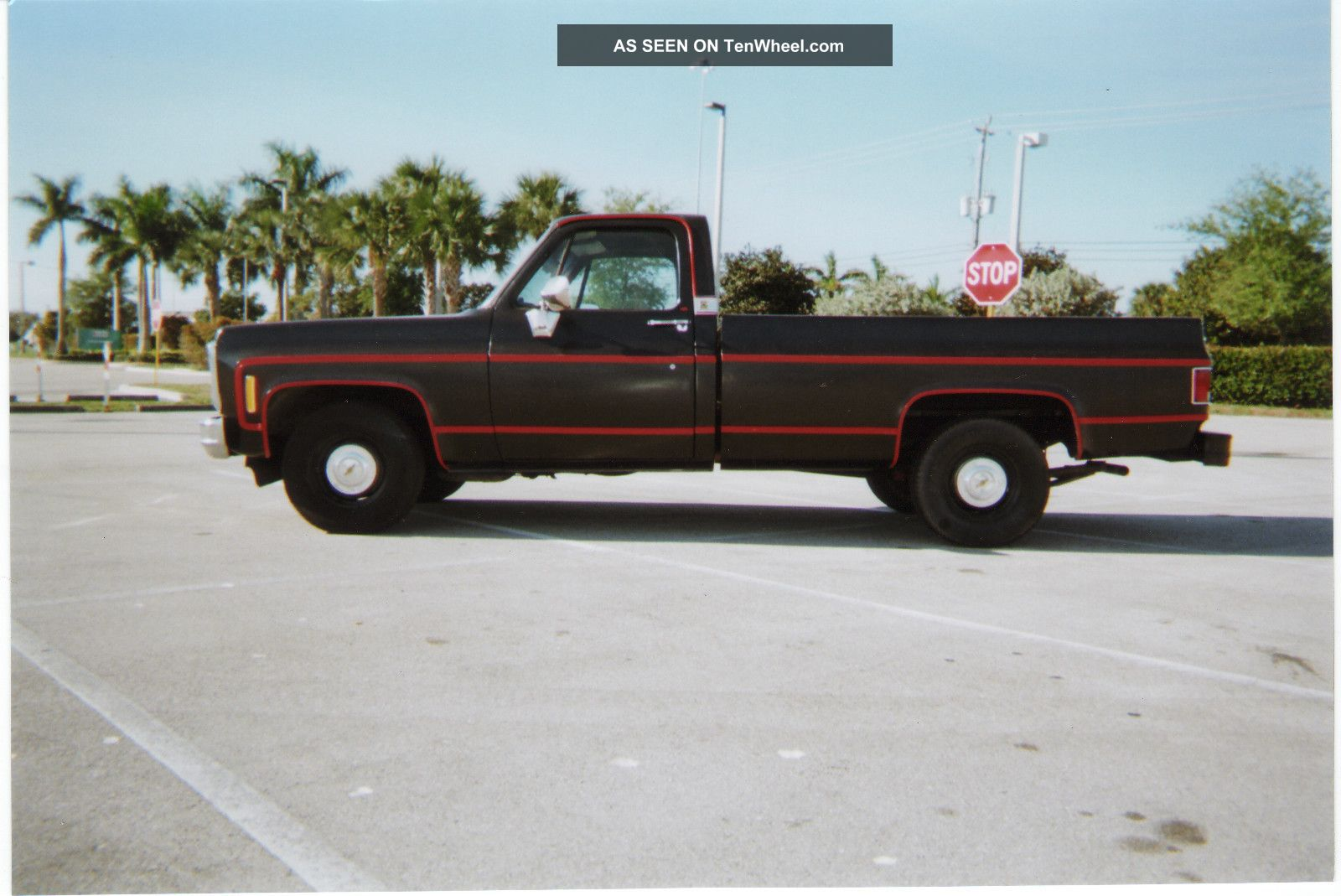 1980 chevy silverado c 10 pickup truck long bed only 10k on 350 gm crate. Black Bedroom Furniture Sets. Home Design Ideas