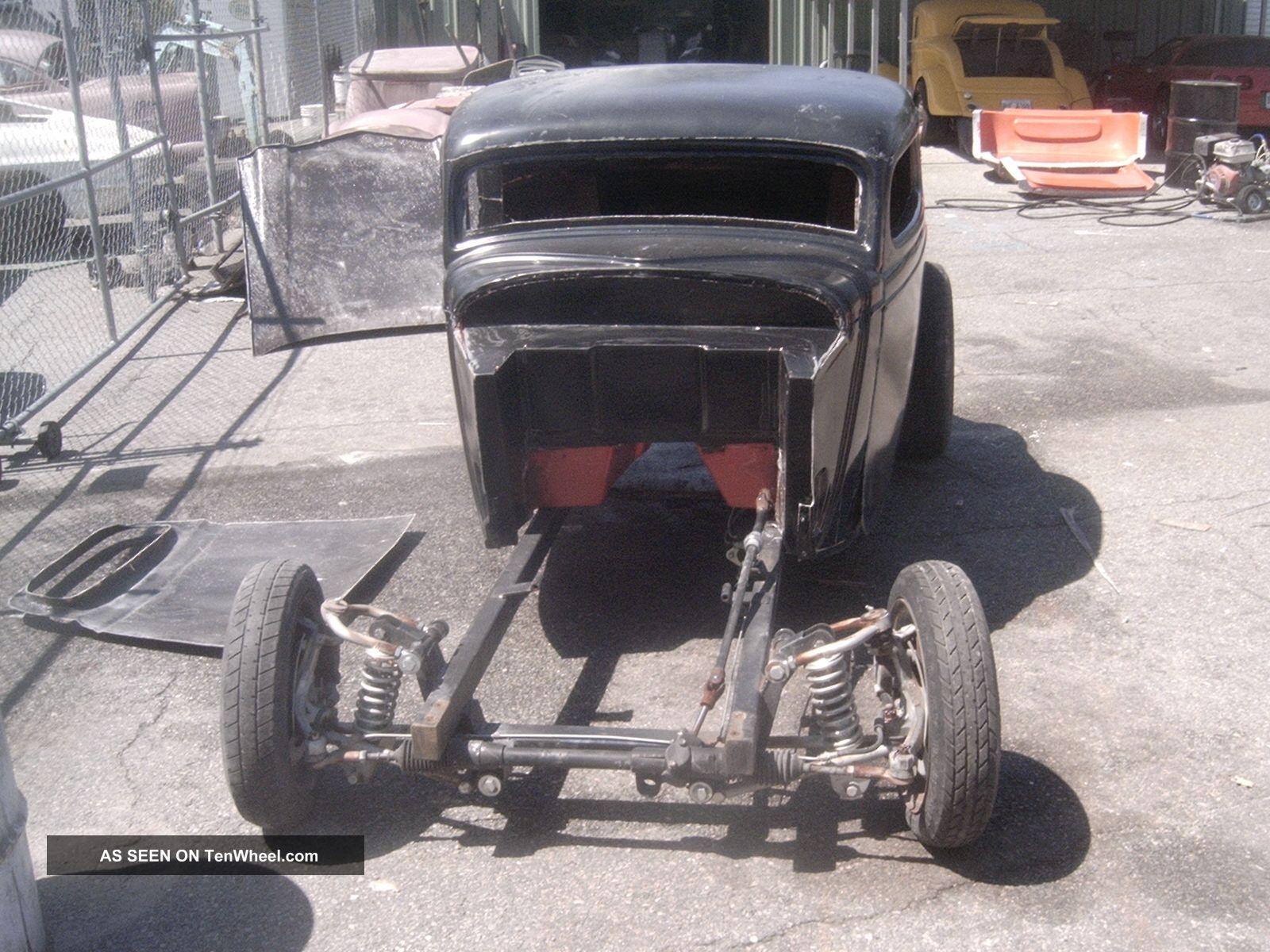 1934 Ford Coupe Roller Fiberglass Body Bycorbinrods Replica/Kit Makes photo