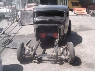 1934 Ford Coupe Roller Fiberglass Body Bycorbinrods photo