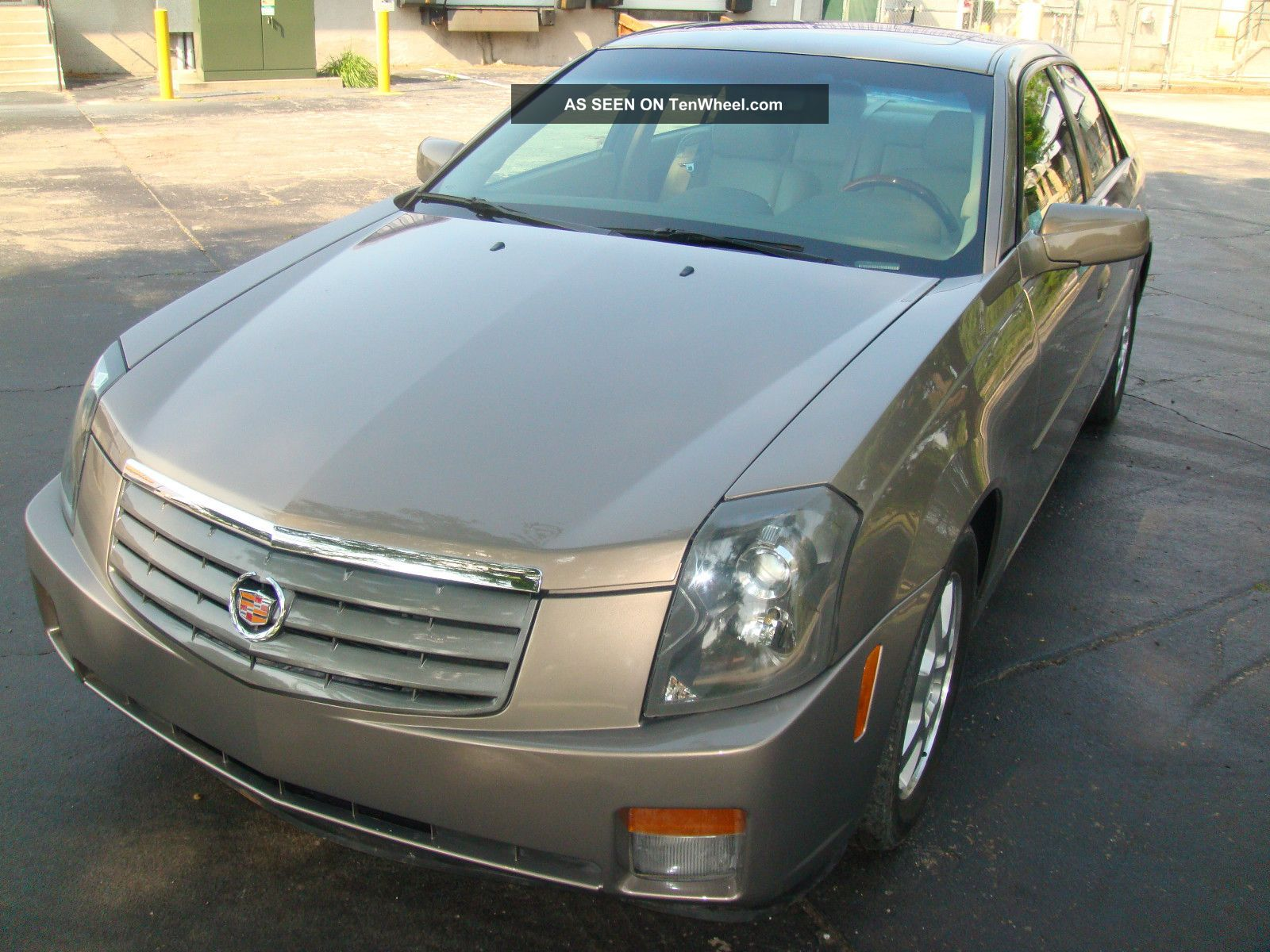 Cadillac Cts Base Sedan Door L Lgw on 2006 Cadillac Cts Side View