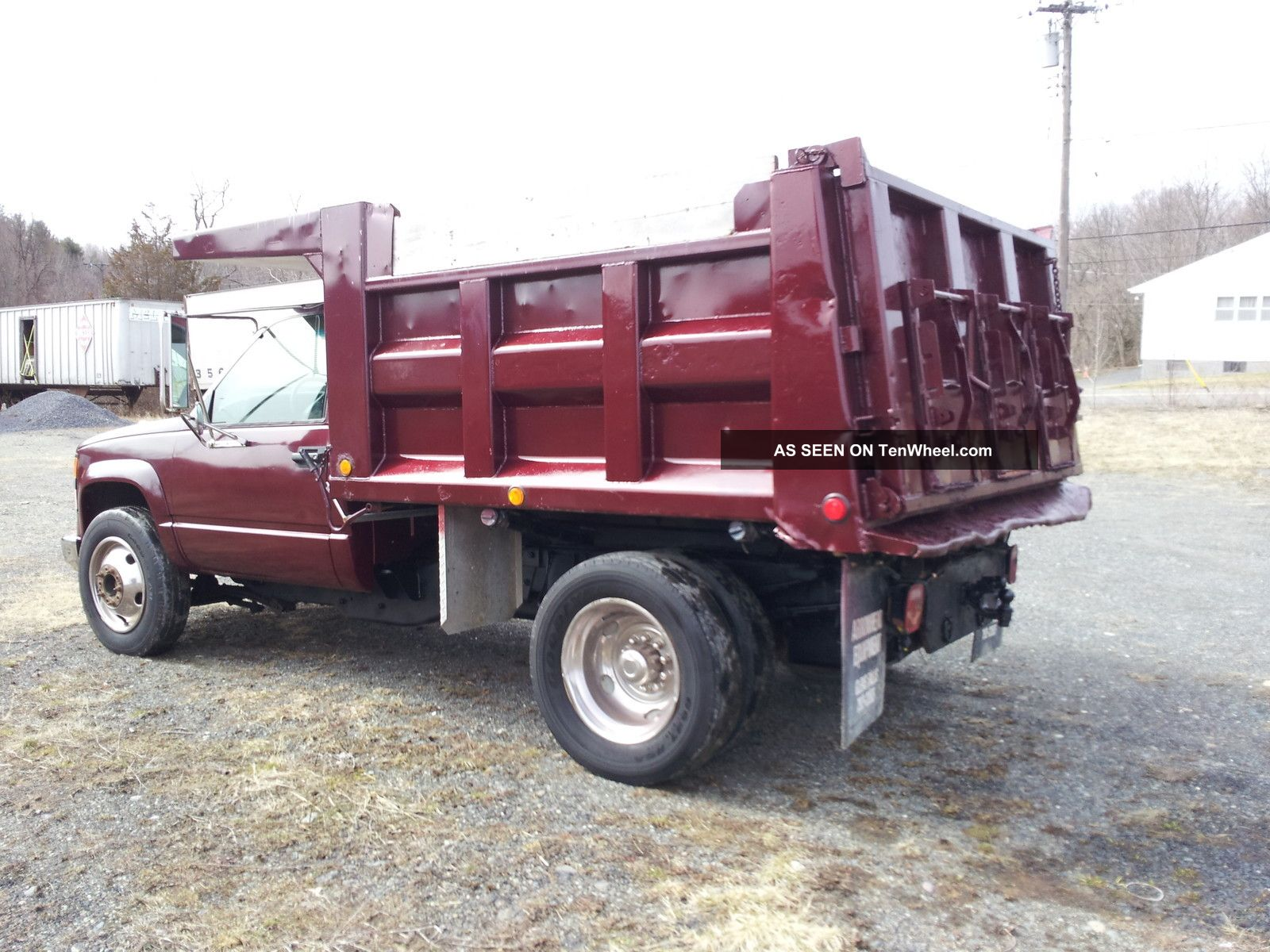 Alfa img showing gt chevrolet one ton dump bed dully truck