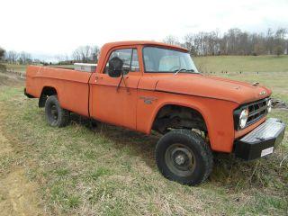 1968 Dodge Power Wagon W200 photo