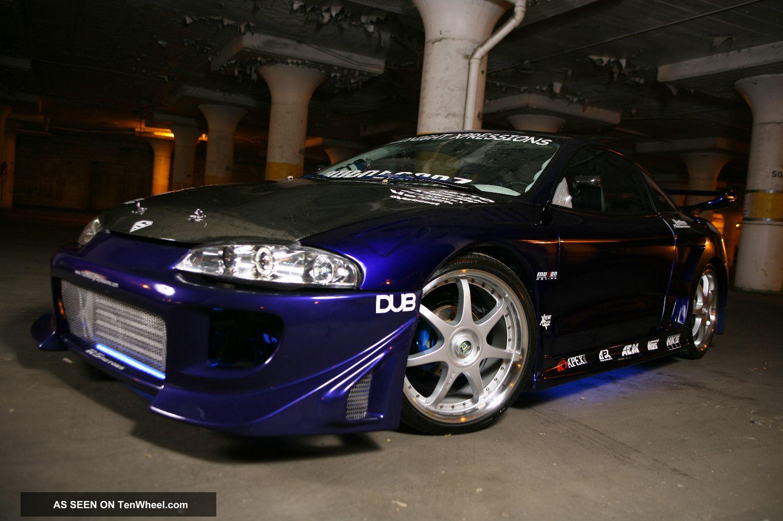 1998 Mitsubishi Eclipse Gst Hatchback 2 - Door 2. 0l