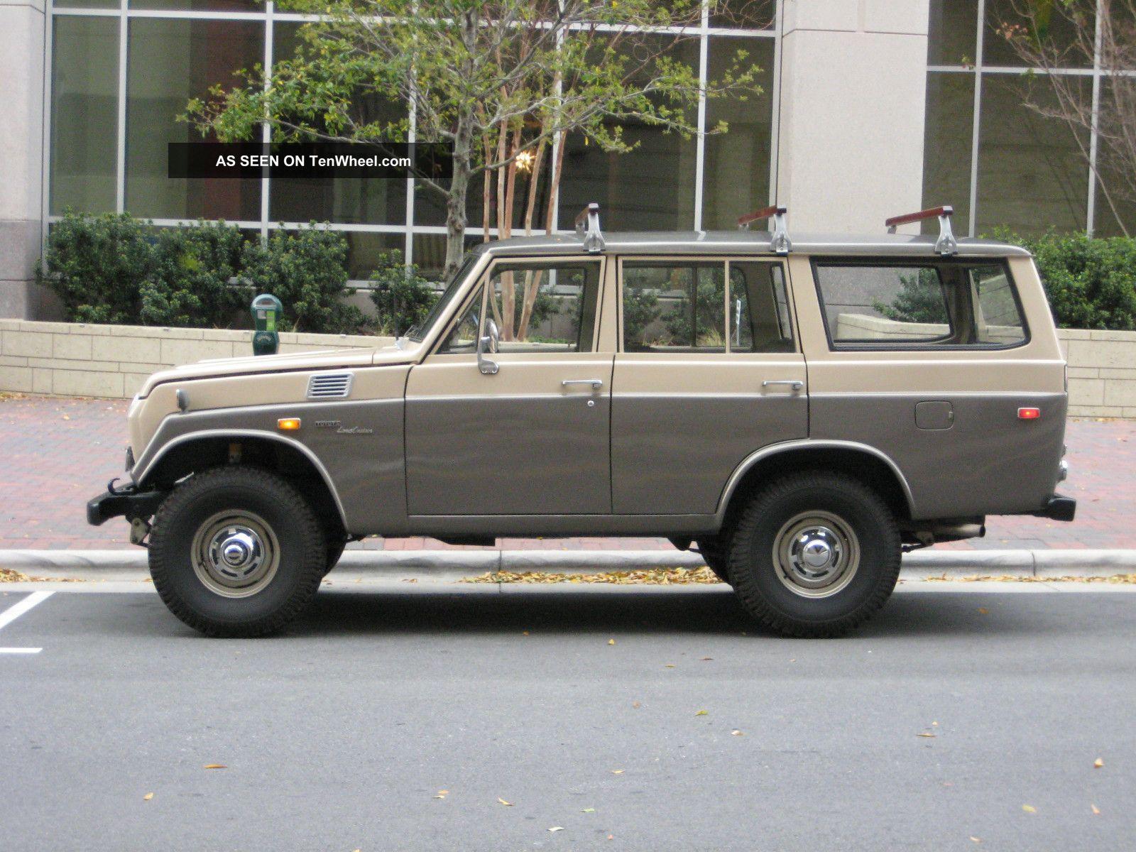 1971 Toyota Land Cruiser Fj55 By Tlc Tlc4x4 Of California