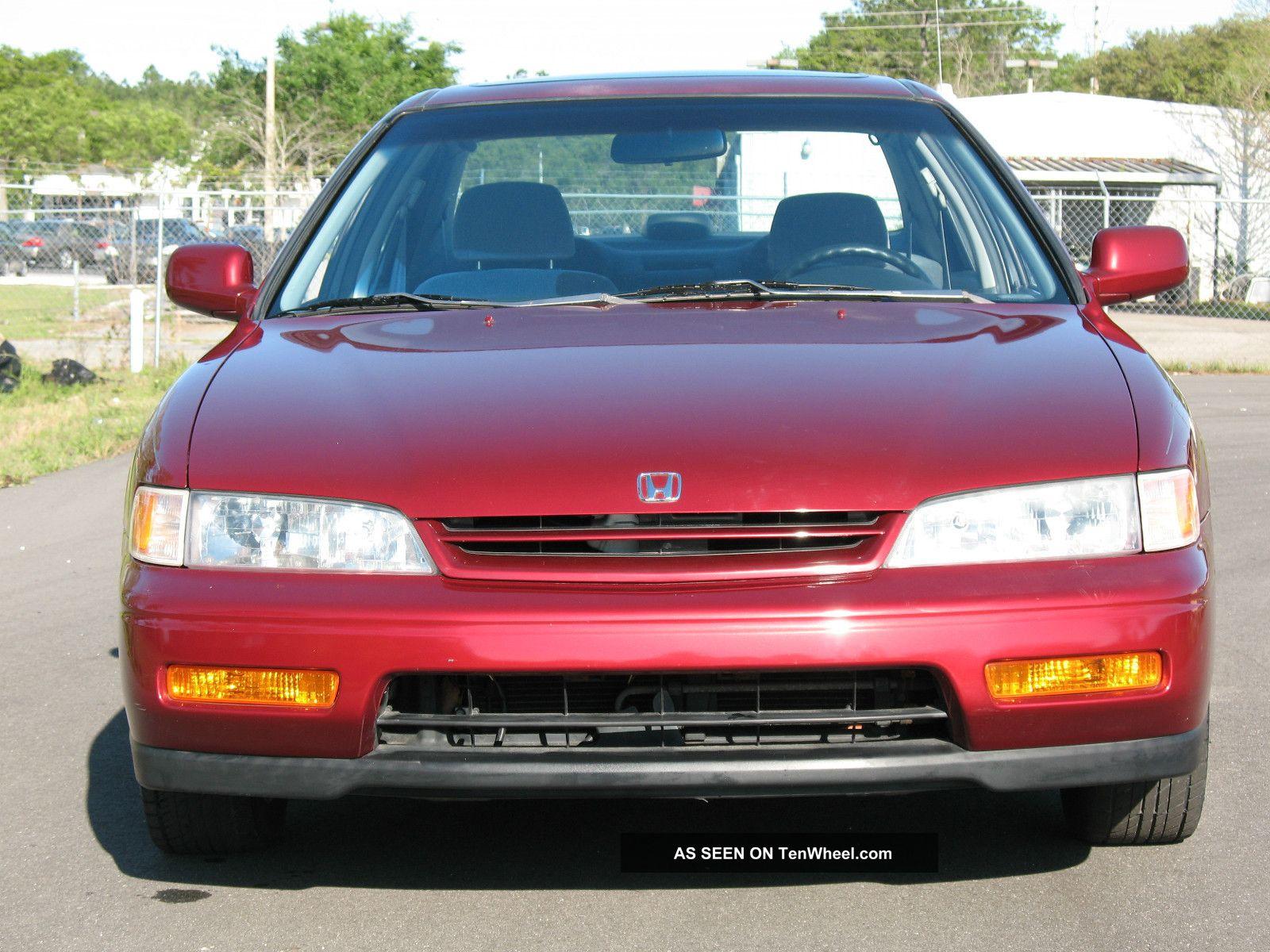 1995 Honda Accord Ex Sedan 4 Door 2 2l