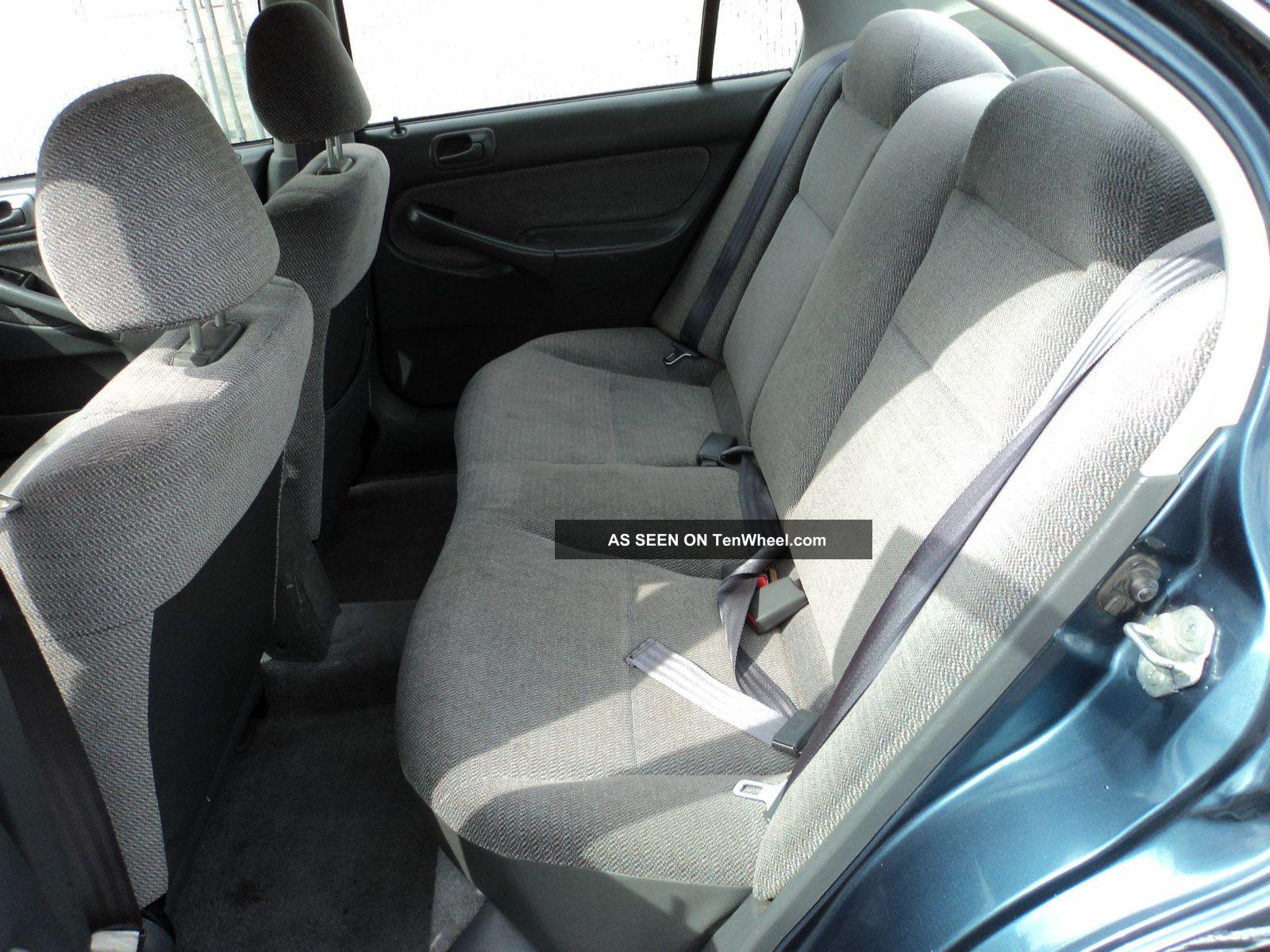 1996 Honda Civic Lx Sedan 4 Door 1 6l