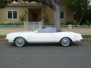 1985 Buick Riviera Convertible,  Classic And photo