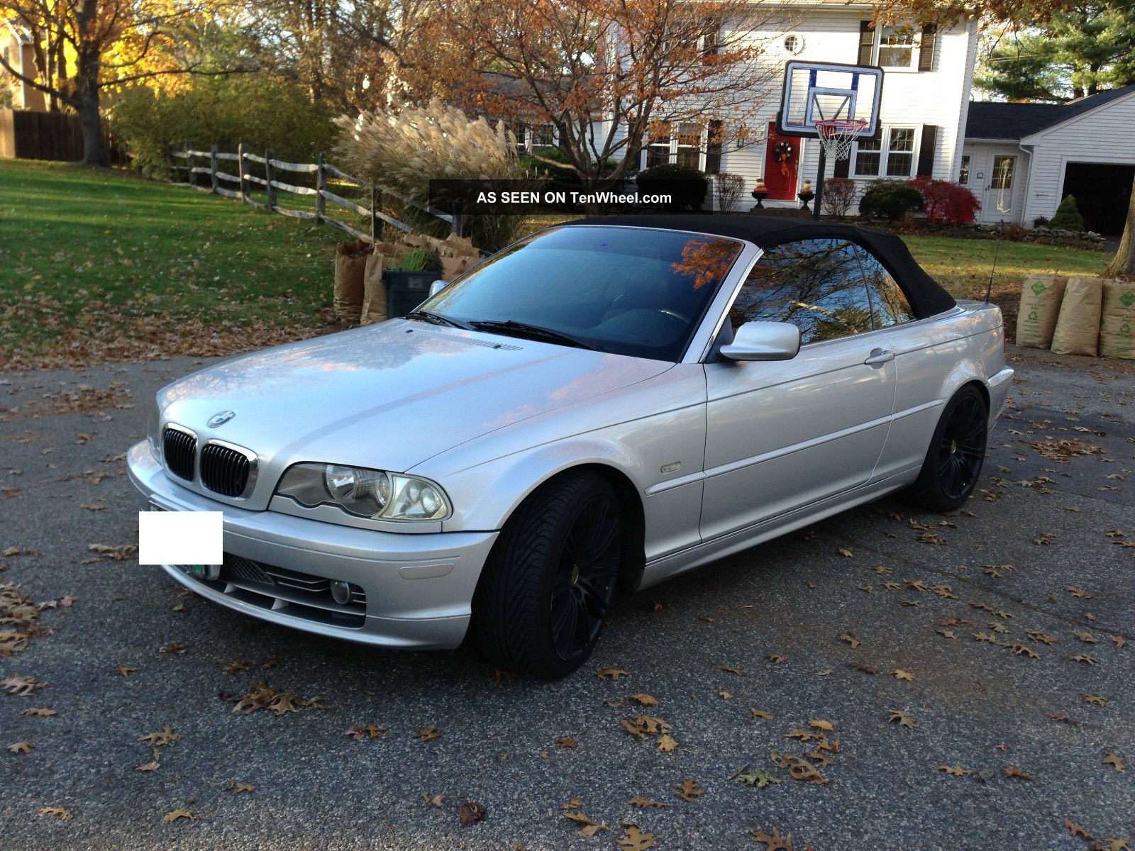 2001 Bmw 330ci Base Convertible 2 - Door 3.  0l 3-Series photo