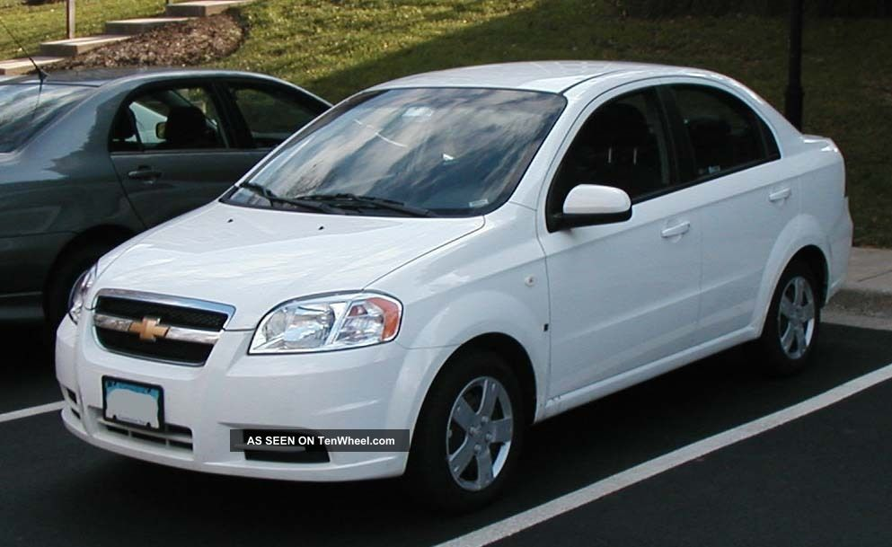 2009 chevrolet aveo lt sedan 4 door 1 6l. Black Bedroom Furniture Sets. Home Design Ideas