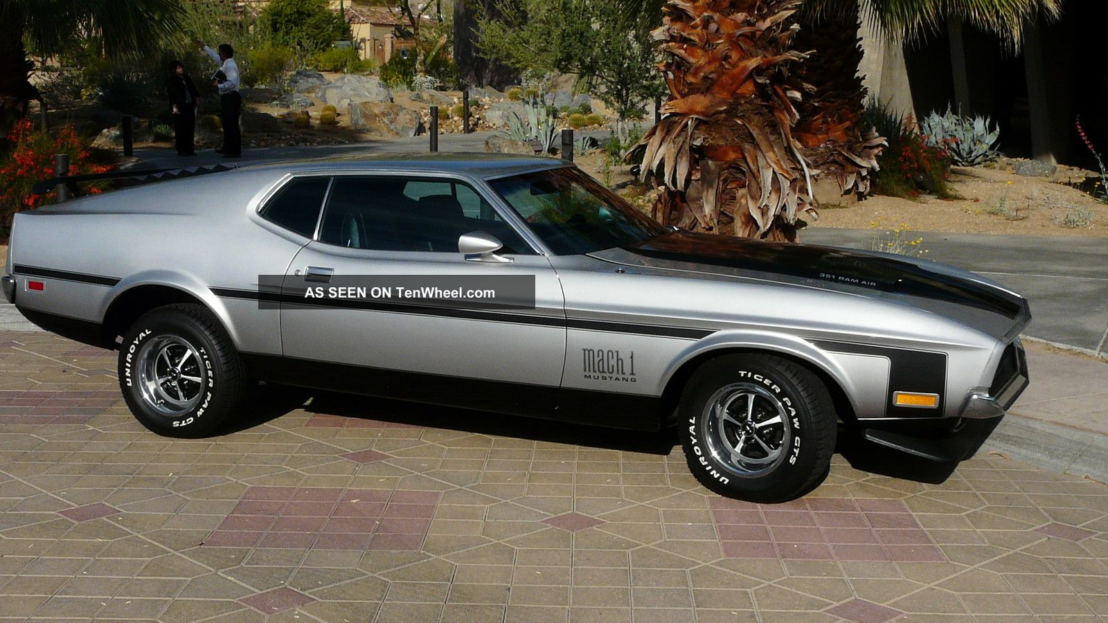 Ford 1971 Mustang Fastback 351 C4tran P Bp S A C Paint With Mach 1 Mach1 Decals