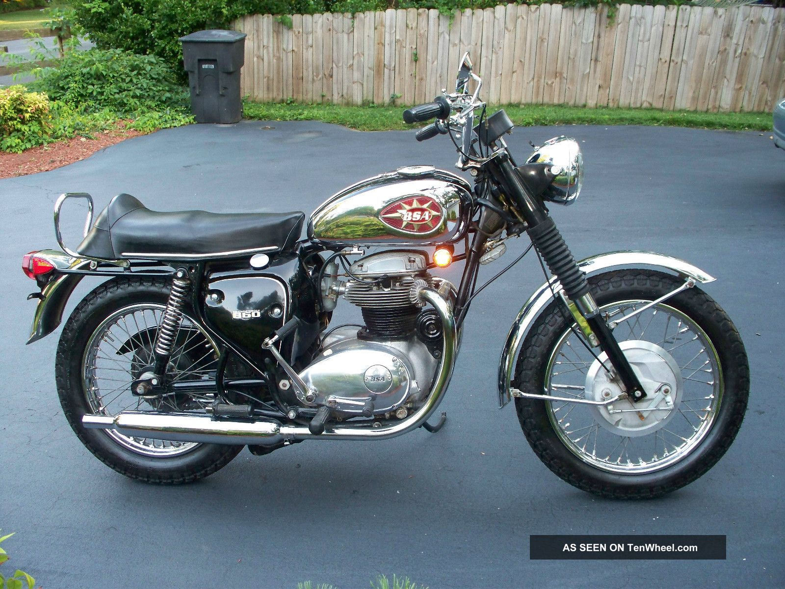 1969 Bsa Thunderbolt Outstanding Condition Very
